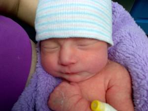 Valerie Andrea recién nacida