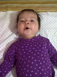 Mi hija ya pasados los tres meses