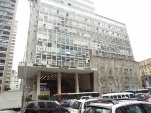 Sede de un famoso periódico deportivo de Sao Paulo.