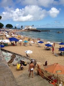 Playa en Faro de Barra