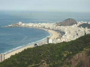 Vista de Copacabana desde Pan de Azúcar