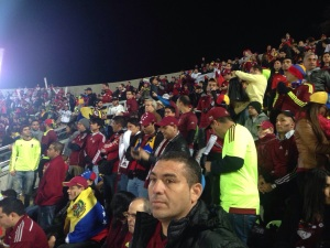 Foto tomada por mi hermano @fmazgo27, quien siguió a la selección en los tres partidos.